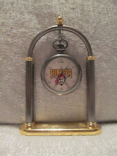 Sun Time Pittsburgh Pirates Executive Sports Pocket Clock MLB Baseball