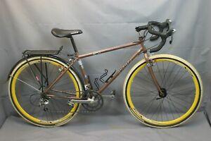 "Yakota Ahwahnee Cross 1994 Touring Road Bike18"" Large Butted Steel USA Charity!!"
