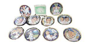 Hamilton Collectible Plate Lot Mickey Mantle NY Yankees New York Baseball 1995