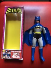 "8"" Batman Figure With Vinyl Cape And Removable Cowl .FTC ,box Included ."