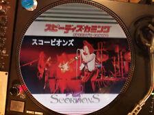 "Scorpions – Speedy's Coming Mega Rare 12"" Picture Disc Promo Single Japan LP"