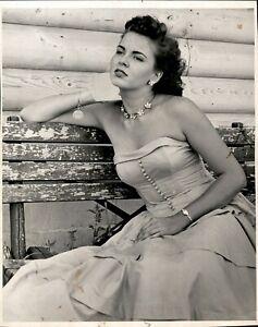 LG920 1953 Original Photo BEBE SHOPP Miss America Beauty Queen Vintage Glamour