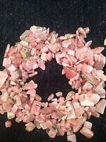 1/2lb 5-12mm Rhodochrosite Tumbled Stone Small Healing Crystal Reiki