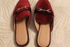 Metaphor Suede Flat Shoes SZ 7 Wine MSRP:$34.99 Now: $29