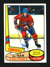 Steve Shutt Autographed Signed 1980-81 Topps Card #89 Montreal Canadiens 154257