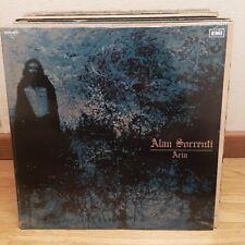 LP ALAN SORRENTI - ARIA VINILE 180 GRAMMI 1972 ristampa 2017 Gatefold SIGILLATO!