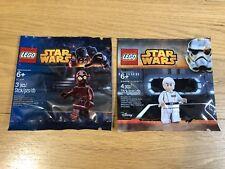 🔹 Sellado 🔹 Lego Star Wars Minifigura polybags Paquete Colección 🔹 Exclusivo/x 2 🔹