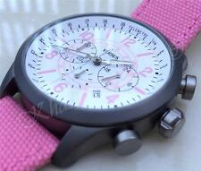 VERSACE Watch AVIATOR Chronograph Men's Versus by Versace Collection Pink New