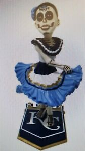 """Presale KC ROYALS """"Day of The Dead"""" Bobblehead SGA 9/17/21 Theme Ticket Required"""