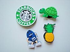 Shoe Charm For Jibbitz Band Plug For Croc Accessories Starbuck Pineapple Turtle