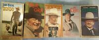Lote of 5 vhs tapes John Wayne