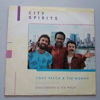 Tony Vacca Tim Moran Don Cherry - City Spirits Vinyle LP US 1st Press Free Jazz