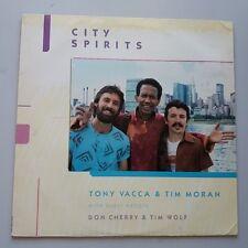 Tony Vacca Tim Moran Don Cherry-City Spirits VINYL LP US 1st Press Free Jazz