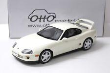 1:18 OTTO Toyota Supra MK4 Coupe 1993 white NEW bei PREMIUM-MODELCARS
