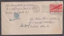 **US Airmail APO Cover, APO #536 (Germany), 6/13/1945 CDS to PA CV $25.00
