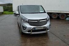 Opel / Vauxhall Vivaro 2014+ Stainless Steel Low Bull Bar Abar Nudge Bullbar