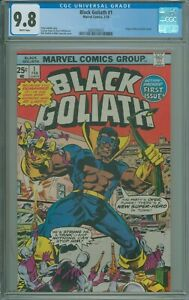 Black Goliath #1 CGC 9.8 NM/M Origin of Black Goliath retold - 1976