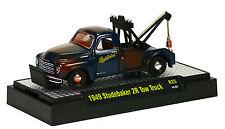 M2 MACHINES AUTO-TRUCKS R25: 1949 STUDEBAKER 2R TOW TRUCK 1:64 BOXED