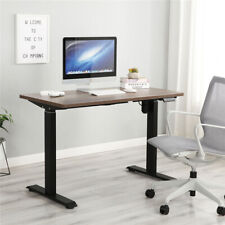 Standing Desk Computer Sit Stand Table Pc Workstation Electric Height Adjustable