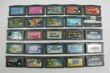Discounted Lot of 25 Game Boy Advance Games- Spyro 2, Super Mario Bros, Pac-Man