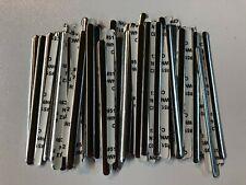 Aluminum Metal Nose Bridge Strips 100ct Self Adhesive Flat US Seller
