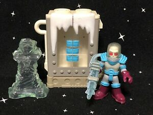 Fisher Price Imaginext DC Comics Super Friends Batman MR FREEZE w/ Chamber D28
