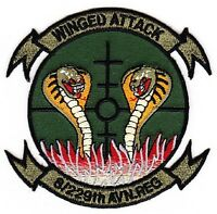 US Army 8th Battalion 229 Aviation Regiment ACU military patch WINGED ATTACK
