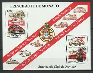 Monaco 2002 Formula 1, WRC MNH Block
