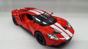 2017 Ford GT red car model kinsmart TOY 1/38 scale diecast present gift