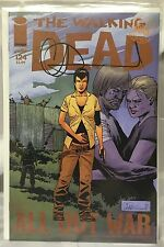 IMAGE COMICS THE WALKING DEAD #124 1ST PRINT SIGNED BY CHARLIE ADLARD