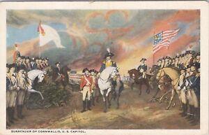 WB Reynolds postcard, Surrender of Cornwallis, U.S. Capitol