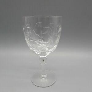 Stuart Crystal MINUET Water Goblets - SET OF FOUR