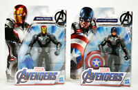 Marvel Avengers Endgame Iron Man and Captain America Action Figures Toy Combo!