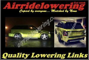 RANGE ROVER SPORT 2005 - 2013 Fully Adjustable Lowering Link full * STAINLESS*