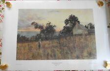 Winter Evening, Hawthorn by Frederick McCubbin  Vintage Art Print 101cm x 68cm