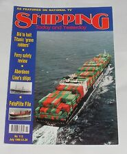 SHIPPING TODAY AND YESTERDAY JULY 1999 - ABERDEEN LINE'S SHIPS