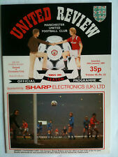 1984/85 Manchester United v Coventry City FA Cup 4th Rd  with Token