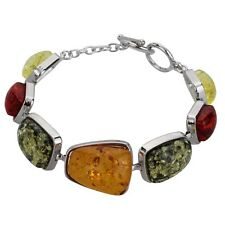 Chic Charm Gem Rhinestone Bangle Amber Bracelet Gift For Women