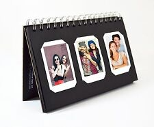 Fuijufilm Instax Mini Photo Album Book style 60 Pockets , Black