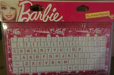 Barbie My Awesome Keyboard + Barbie My Fab Mouse and Pad Bundle