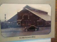 VINTAGE POST CARD  AERIAL VIEW YE OLDE CURIOSITY  SHOP SEATTLE  WASHINGTON