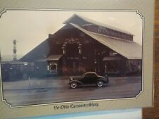 VINTAGE POST CARD  AERIAL VIEW YE OLDE CURIOSITY  SHOP SEATTLE  WASHINGTON