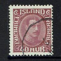 Iceland SC# 184 - Used - 030517