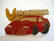 PINS VOITURE ROUGE TRANSAM