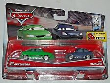 DISNEY PIXAR CARS MOVIE MOMENTS 2 PACK DAN SCLARKENBERG & KIM CARLLINS