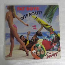 Fat Boys OG Rap Hip Hop LP Record Album Lot of 3 Twist Lie-Z Wipeout
