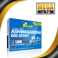 Olimp Ashwagandha Root Extract 600 Sport 60 Capsules | Indian Ginseng Supplement