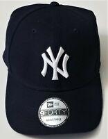 Men's New York Yankees New Era Navy League 9FORTY Adjustable Hat