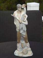 Lladro Boy with Goat Calf 4506 Mint Condition Third Lladro Mark 1971-1974