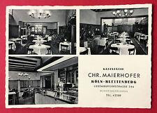 AK KÖLN Kleitenberg um 1935 Gaststätte Chr. Maierhofer Innenansichten   ( 11385